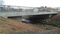 "Brückenbauwerk, Erschließung Gewerbegebiet ""Laufach-Süd"""