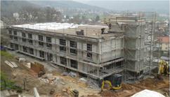 Neubau Appartementhaus IG Metall Bildungszentrum Lohr